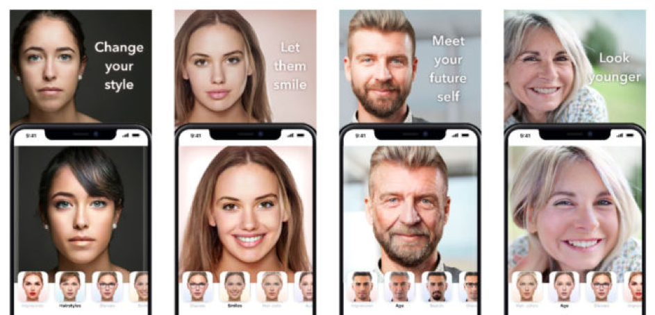 FaceApp, l'application qui vieillit votre visage !